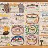 いざ!!ブルーブルーエ・ミウィ橋本店の手作りショップカードをアップで見て頂こう!