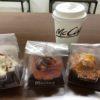 今回のコトPOP勉強会は朝から座学前に餃子と菓子パンの試食!もちろん別腹のスィーツ付き!
