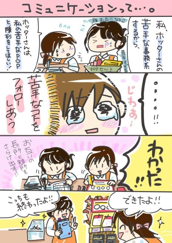 コミュニケーションの漫画